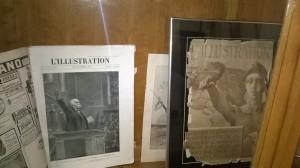 """Exposition commémorative : un exemplaire du journal """"l'Illustration"""" daté du 16 novembre 1918"""